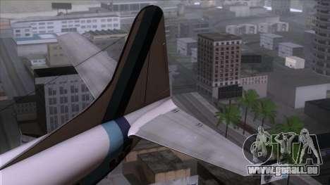 L-188 Electra Eastern Als für GTA San Andreas zurück linke Ansicht