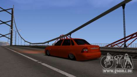 ENB pour les moyennes PC pour GTA San Andreas deuxième écran