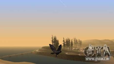 La possibilité de GTA V à jouer pour les oiseaux pour GTA San Andreas cinquième écran