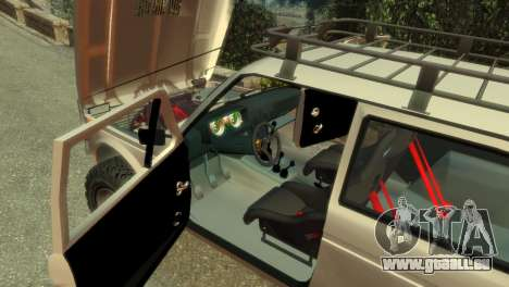 VAZ Niva 21213 für GTA 4 Innen