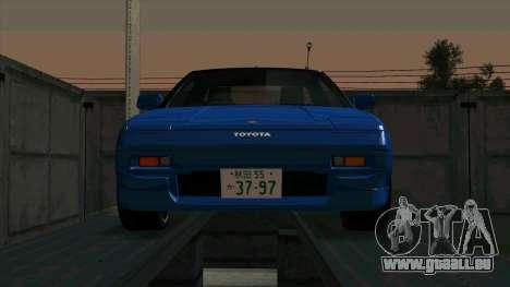 Toyota MR2 1600 G-Limited (AW11) pour GTA San Andreas laissé vue