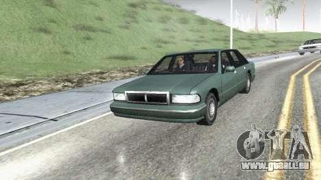 Straße Reflexionen Update 1.0 для GTA San Andrea für GTA San Andreas dritten Screenshot