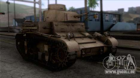 M2 Light Tank für GTA San Andreas