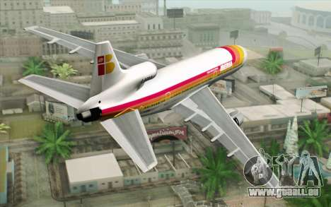 Lookheed L-1011 Iberia für GTA San Andreas linke Ansicht
