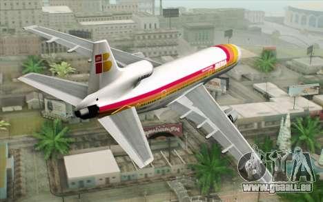 Lookheed L-1011 Iberia pour GTA San Andreas laissé vue