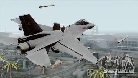 F-16C Block 52 PJ für GTA San Andreas linke Ansicht