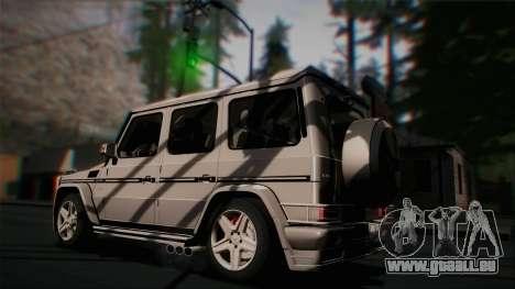 Mercedes-Benz G65 2013 Hamann Body pour GTA San Andreas vue de côté