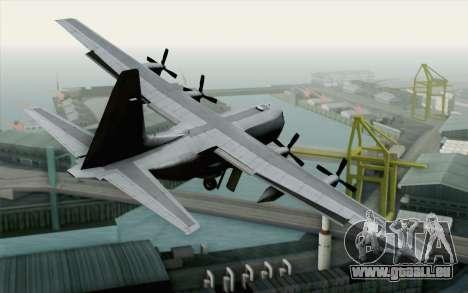 C-130H Hercules USAF für GTA San Andreas linke Ansicht
