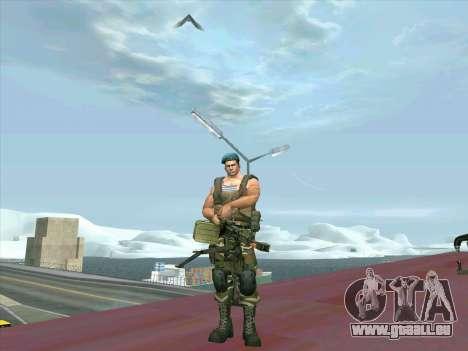 Le canon du char Cordon pour GTA San Andreas deuxième écran
