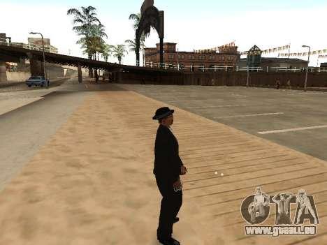 CLEO abusé de moi-même pour GTA San Andreas deuxième écran
