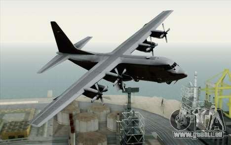 C-130H Hercules USAF pour GTA San Andreas