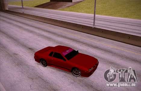 NGT Elegy pour GTA San Andreas sur la vue arrière gauche