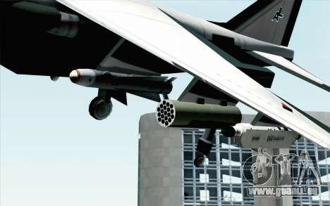 Hydra ADFX-02 Pixy pour GTA San Andreas vue arrière
