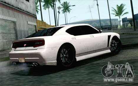 GTA 5 Bravado Buffalo S v2 IVF für GTA San Andreas linke Ansicht