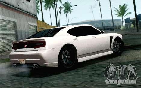 GTA 5 Bravado Buffalo S v2 IVF pour GTA San Andreas laissé vue