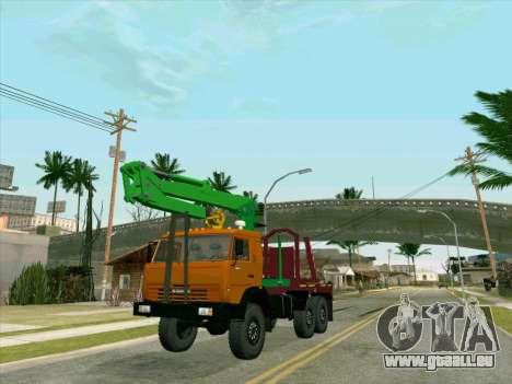 KamAZ 44108 Holz für GTA San Andreas