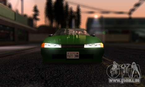 Elegy I Love GS v1.0 für GTA San Andreas Innenansicht