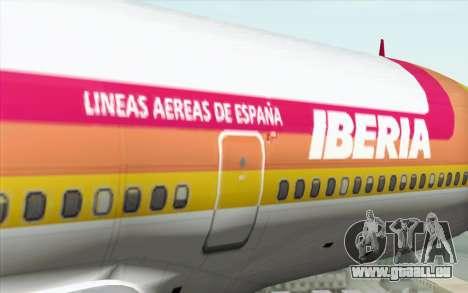 Lookheed L-1011 Iberia pour GTA San Andreas vue arrière