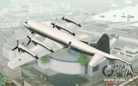 Lockheed P-3 Orion German Navy pour GTA San Andreas laissé vue