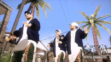 ENB Sunreal pour GTA San Andreas troisième écran