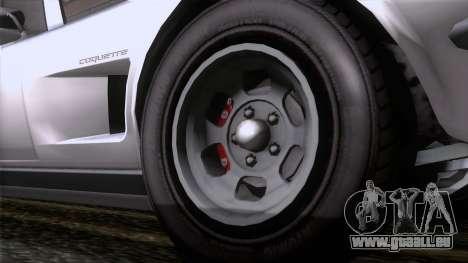 GTA 5 Invetero Coquette Classic TL für GTA San Andreas zurück linke Ansicht