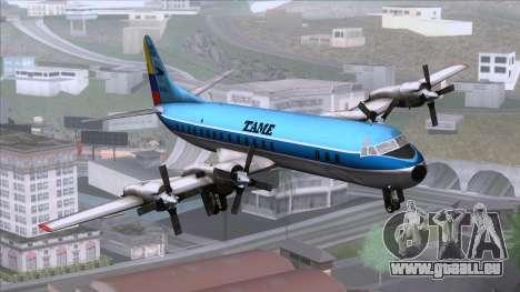 L-188 Electra TAME für GTA San Andreas