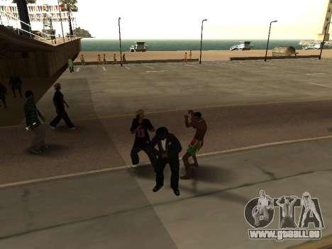 CLEO abusé de moi-même pour GTA San Andreas troisième écran