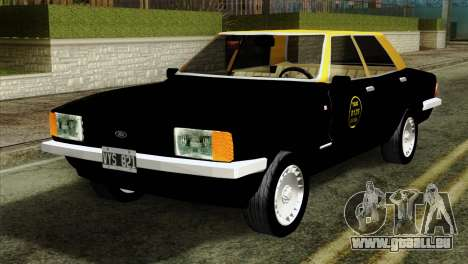 Ford Taunus 1981 Taxi Argentina pour GTA San Andreas