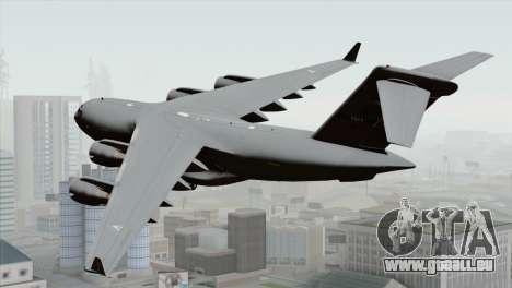 C-17A Globemaster III NATO für GTA San Andreas linke Ansicht