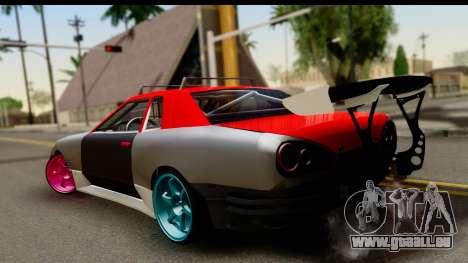 Drift Elegy Edition pour GTA San Andreas laissé vue