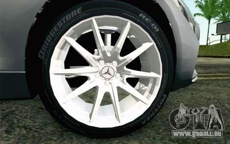 Mercedes-Benz AMG GT 2015 für GTA San Andreas zurück linke Ansicht