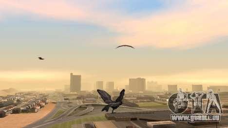 La possibilité de GTA V à jouer pour les oiseaux pour GTA San Andreas deuxième écran