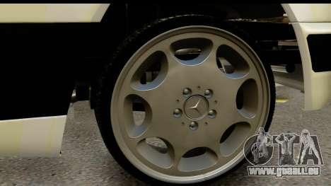 Mercedes Benz E320 W124 Coupe für GTA San Andreas Rückansicht