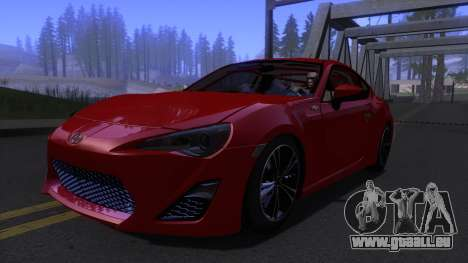 Scion FR-S 2013 Stock v2.0 pour GTA San Andreas