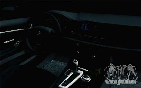 BMW 535i 2011 pour GTA San Andreas vue de droite