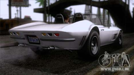 GTA 5 Invetero Coquette Classic TL SA Mobile pour GTA San Andreas laissé vue