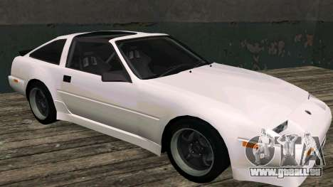 Nissan Fairlady Z 300ZX (Z31) pour GTA San Andreas laissé vue