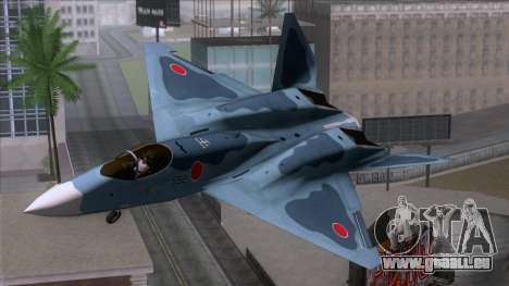 YF-23 JASDF für GTA San Andreas