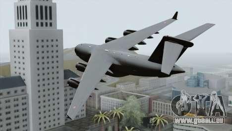 C-17A Globemaster III PAF pour GTA San Andreas laissé vue