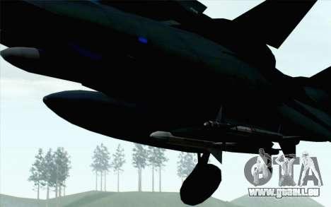 F-14 Raptor Squadron Force pour GTA San Andreas vue de droite
