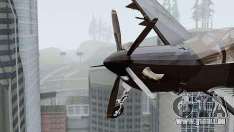 Embraer A-29B Super Tucano Marines pour GTA San Andreas vue de droite