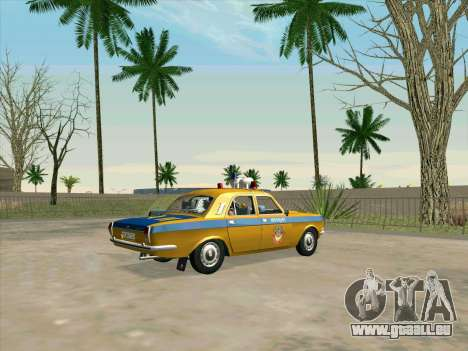 Volga 24-10 GAI pour GTA San Andreas laissé vue
