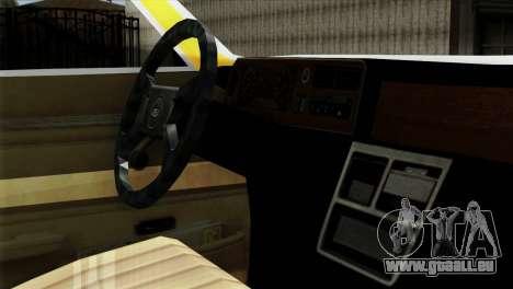 Ford Taunus 1981 Taxi Argentina pour GTA San Andreas vue de droite