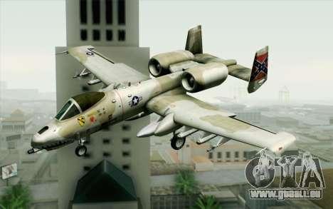 A-10 Desert Camo pour GTA San Andreas