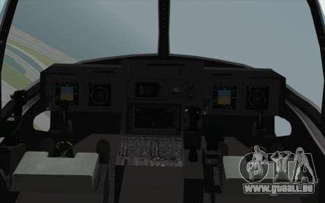 MV-22 Osprey VMM-265 Dragons für GTA San Andreas rechten Ansicht