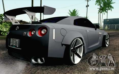 Nissan GT-R 2014 RocketBunny pour GTA San Andreas laissé vue