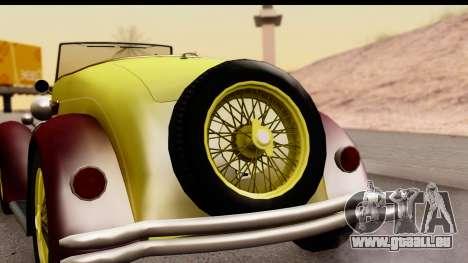 Ford A 1928 pour GTA San Andreas vue de droite