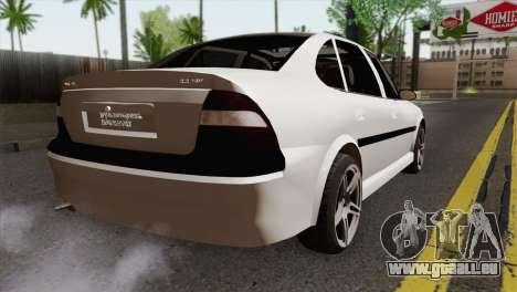 Opel Vectra 2.2 Stock pour GTA San Andreas laissé vue