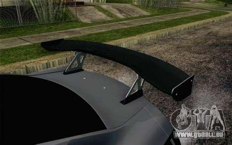 Nissan GT-R 2014 RocketBunny pour GTA San Andreas vue arrière