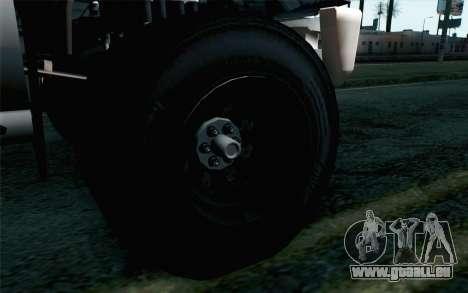 Vapid Guardian GTA 5 pour GTA San Andreas sur la vue arrière gauche